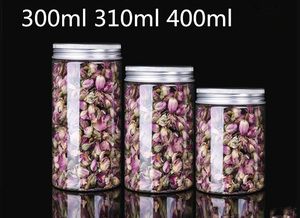 20 шт. Бесплатная доставка, прозрачная пластиковая упаковка диаметром 7,5 см, большая банка для серебряной крышки, герметизация цветов для пищ...