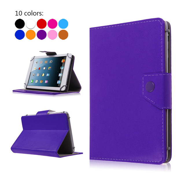 For Asus Memo Pad HD 7 Me173X 7 inch Universal Tablet PU Leather Cover Case For ASUS ZenPad 7.0 Z370C+ free Stylus+Center Film