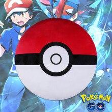 2016 Anime Poke Ball Go font b Plush b font Toys 40CM Cute Pokeball Pillow PP