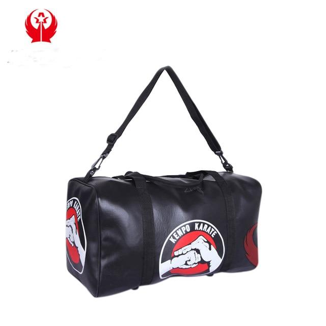 matiarl art bag leather sports gym bag taekwondo / Kanpo / karate bags  sanda / boxing Protector sports bags