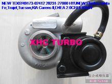 NEW TD02 49173-02412 28231-27000 Turbocharger for HYUNDAI Elantra,Santa Fe,Trajet,Tucson,KIA Carens II D4EA 2.0CRDi 83KW 00-