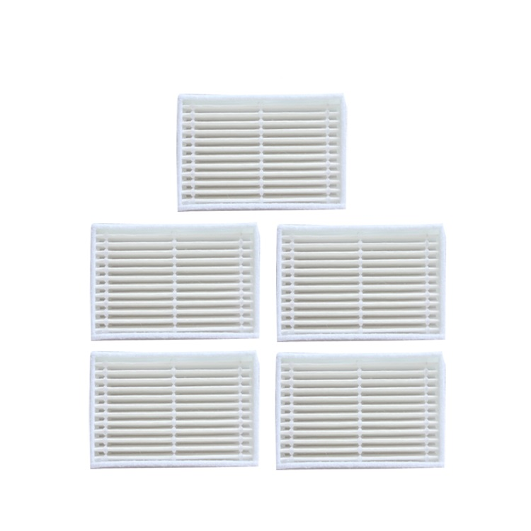 5pcs/lot Robot Vacuum Cleaner Parts Hepa Filter For Panda X600 Pet Kitfort Kt504 Robotic Filters Low Price Cleaning Appliance Parts