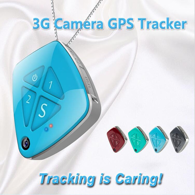 Toogee 3G Mini Personal GPS Tracker Real Time Tracking SOS Alarm Free Platform for Kids Elderly Adult with Camera TK33 (Blue) mini portable gps locator real time tracker sos communicator with lanyard for car person