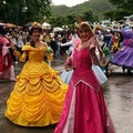 Nuevo 2015 Por Encargo de Fantasia de Halloween Mujeres Cosplay Princesa Vestido de la Bella Y La Bestia Belle Princesa de Adultos Belle Vestuario