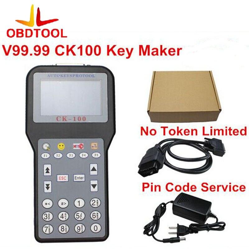 Цена за Новые V99.99 CK-100 CK100 авто ключ программист Нет Жетоны CK100 key программист CK 100 программист SBB Обновление версии