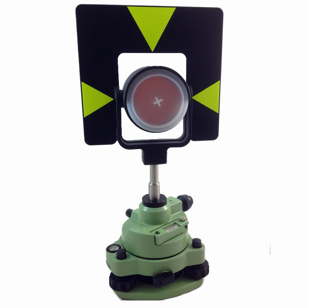 VERDE SINGOLO PRISM TRIBRACH SET SISTEMA PER LA STAZIONE TOTALE SURVEYING