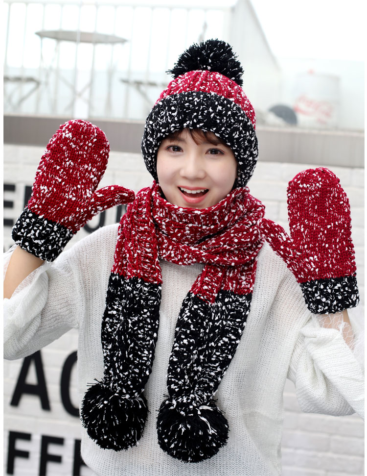 at and scarf set hat and scarf women\`s knitted hat and scarf for women Hat & Glove Sets hat and scarf set winter hat and scarf sets (7)