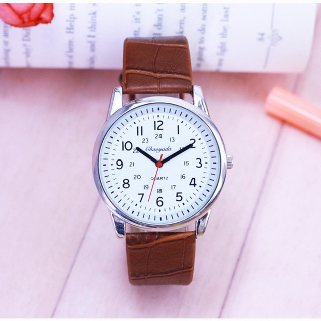 Luxury bracelet Watch Fashion Brand Creativity WristWatch Women Watches Leather