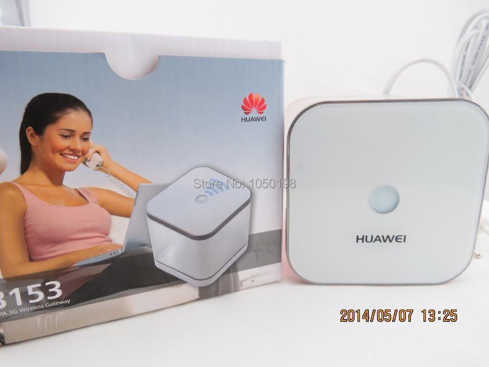Unlocked Huawei B153 Web Cube Wireless Router Wi-Fi 802.11b/g/n 3G HSDPA WCDMA 7.2Mbps Modem 2100/900MHz Mobile Broadband