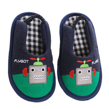 Brand Kids Slippers for Toddler Baby Boy Shoes Cartoon Anime Indoor Soft Rubble Sole Home Flats Child Casual Garden Flip Flops