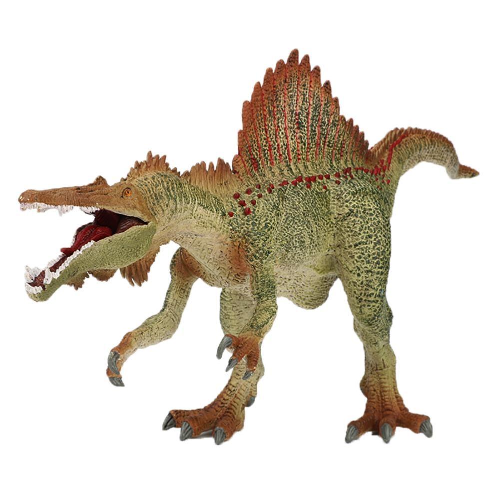 Preistorica Jurassic Spinosaurus Marocco Aperto Bocca Modelli di Dinosauro Giocattoli Prima Educazione Collettiva Giocattoli