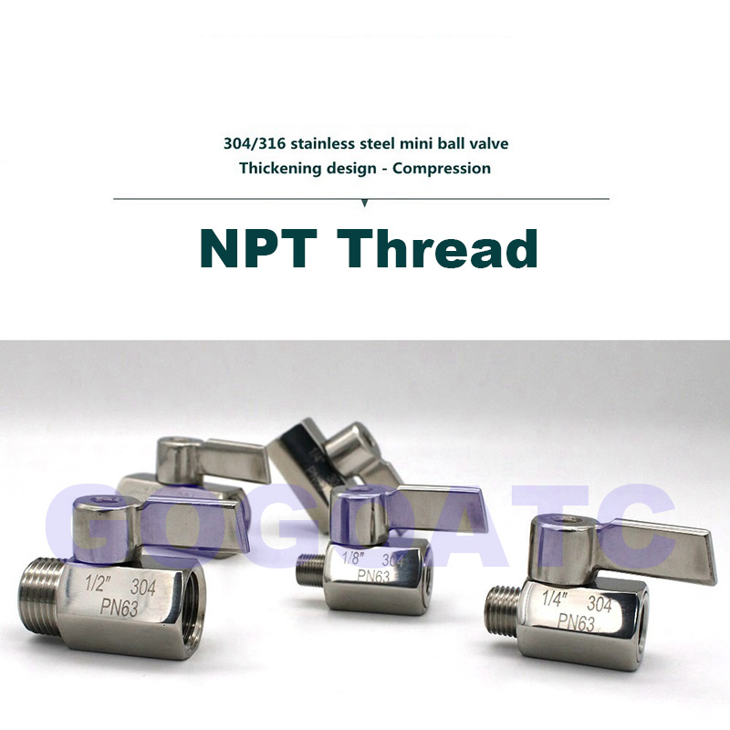 mini ball valve 304 NPT 2 gogo