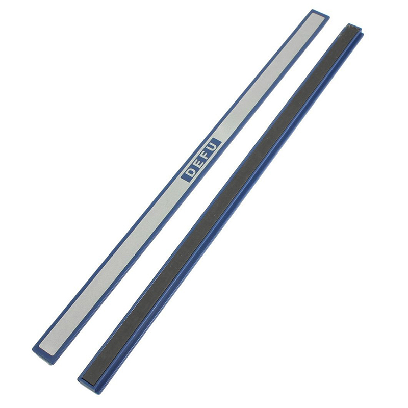 Office Blue Plastic White Board Magnetic Stripe Bars 30cm Length 2 Pcs