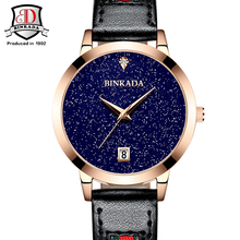 Women Watches 2017 BINKADA Fashion Waterproof Quartz Watch Luxury Women Brand Fashion Watches Relogio Feminino New Design