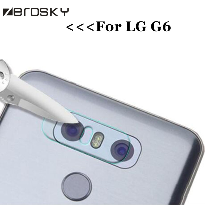 Back Camera Lens Transparent Clear Tempered Glass For LG G6 G600S H870 H870K H870S H870V Dual H870DS Protector Protective Film ...