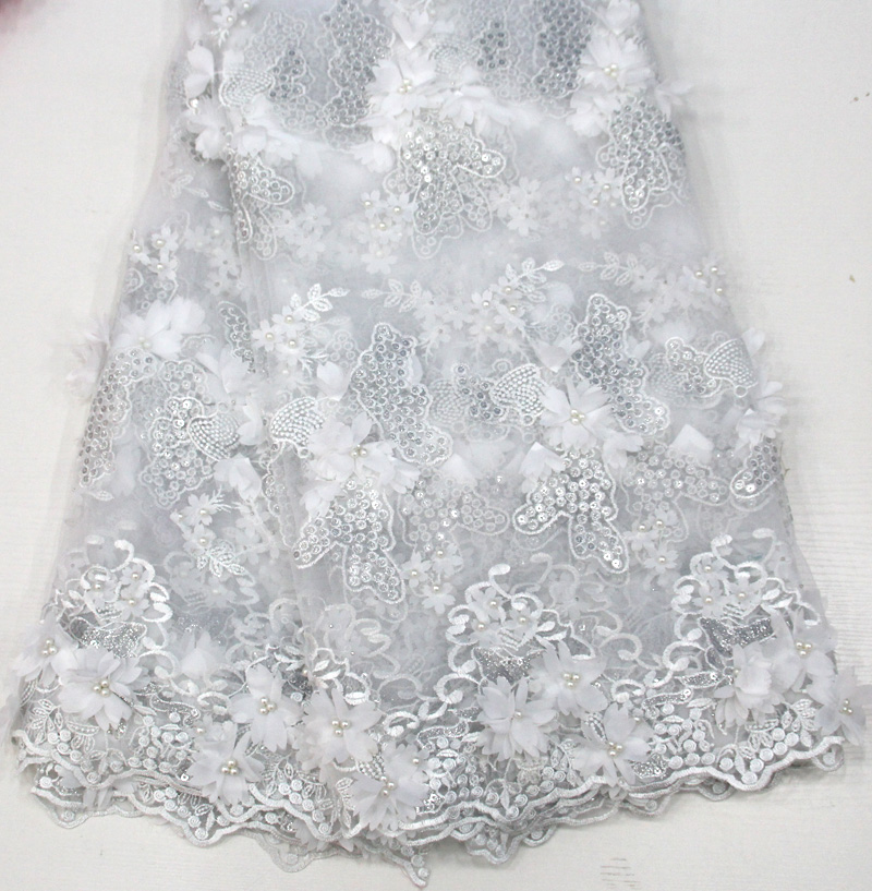 embroidered fabric good looking bridal lace fabric wholesale african french lace fabric white And beadembroidered fabric good looking bridal lace fabric wholesale african french lace fabric white And bead