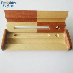 Darmowa wysyłka 500 pecs/wiele kreatywny drewna Puzzle pudełko na długopis popularne nowe z drewna na zamówienie piórnik piśmiennicze piórniki B021