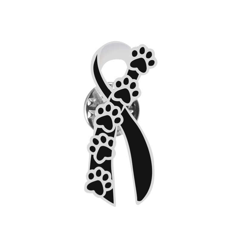 eff5b6c05 ... 1PCS Dog Paw Print Cartoon Brooches Metal Badge Accessories Icons on  Clothing T-shirt Clothes ...