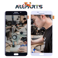 Warranty 6 0 AMOLED Display For SAMSUNG Galaxy A9 A9000 LCD Screen Touch Digitizer Assembly Replacement