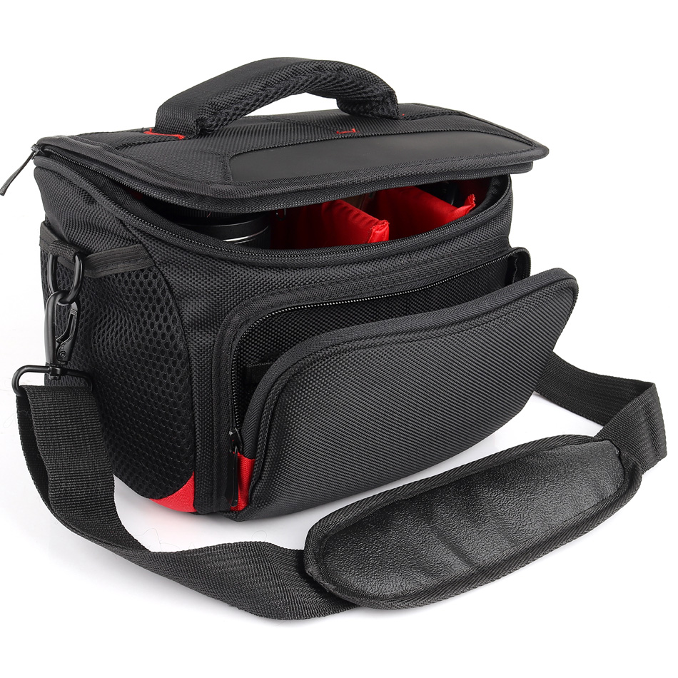 DSLR Камера сумка Водонепроницаемый плечо чехол для Canon Камера Nikon sony сумка Fujifilm Nikon Panasonic Olympus фотообъективы Сумка Рюкзак SLR