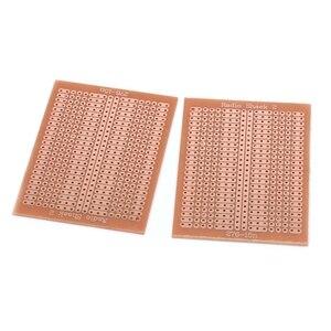 Image 3 - 10 Pcs 5x7cm DIY Prototype נייר PCB האוניברסלי מטריקס ניסוי מעגל לוח מגן