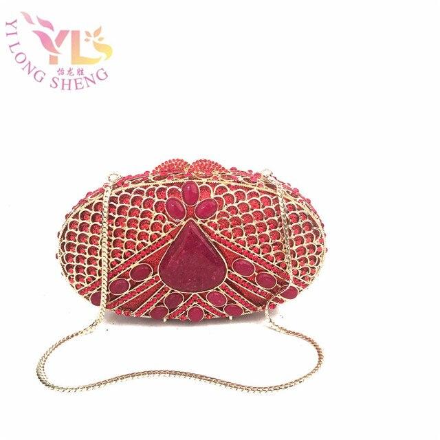 f25f21cfe8 Ladies Designer Clutch Bags on Sale Egg Shape Designer Evening Clutches  Women Messenger Bag Hand Purse YLS-J09