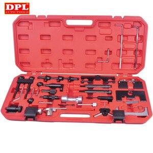 Image 1 - Correia do motor ajustar bloqueio kit de ferramentas sincronismo para audi vw vag gasolina diesel conjunto