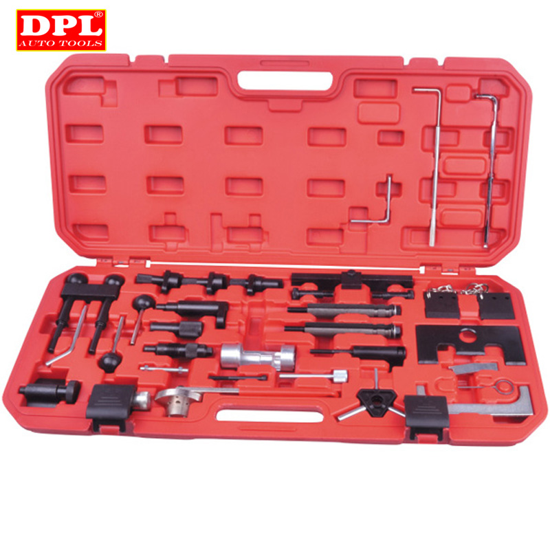 Engine Belt Adjust Locking Timing Tool Kit For Audi VW VAG Petrol Diesel Set engine timing crankshaft locking setting tool kit for vw audi seat skoda vag 1 6