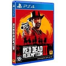 Игра для PlayStation 4 Red Dead Redemption 2 [русские субтитры]