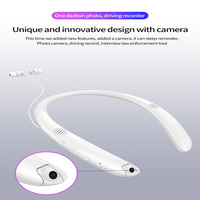 V9 Bluetooth Headset Mini Camera Stereo Neckband In ear Earbuds with Camcorder Sport Bluetooth Earphone