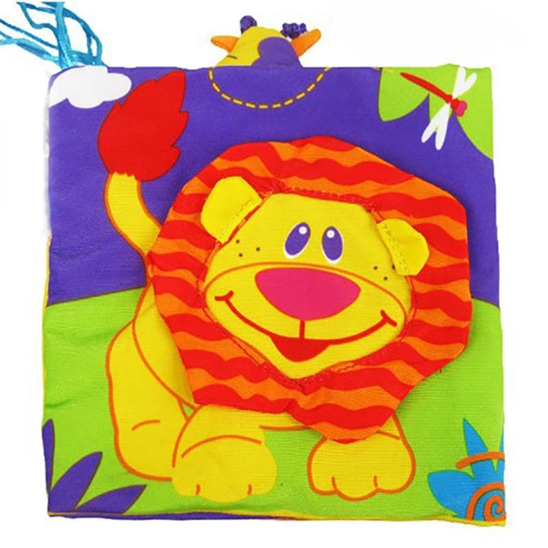 Tierbaby Laufgitter Baby Spielzeug Stoff Buch Hochwertige bunte - Babymöbel - Foto 5