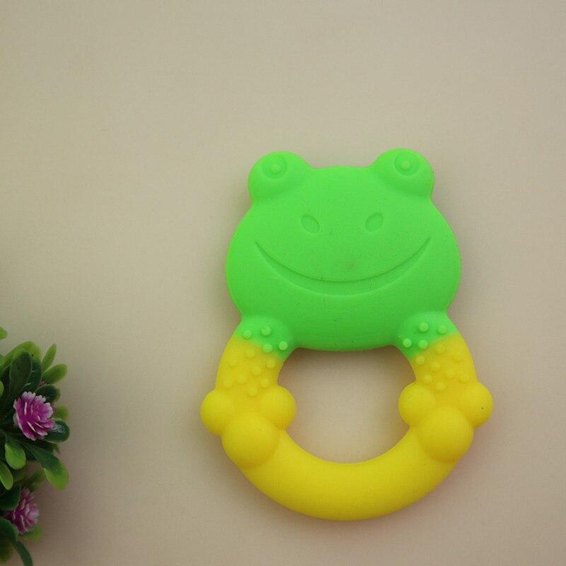 YENİ Baby Teethers Uşaqlar Silikon Oyuncaq Uşaqlar Sürüşürlər - Körpə qayğısı - Fotoqrafiya 5
