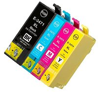XIMO Replacement For Epson 34 34XL Ink Cartridges High Capacity Compatible For Workforce Pro WF 3720DWF