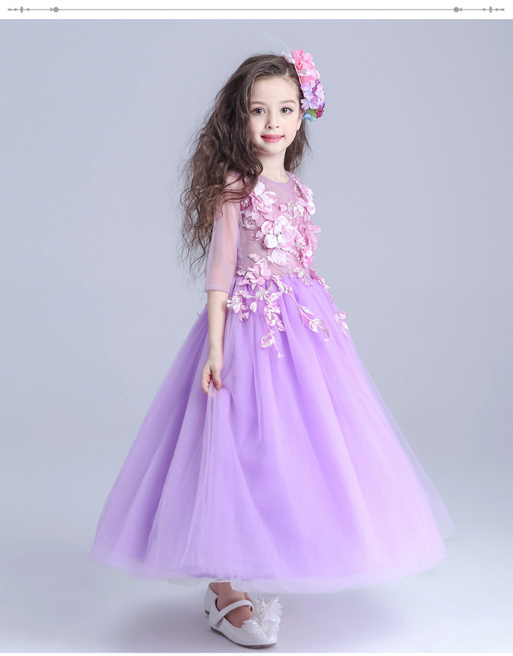 Lujoso Vestido De Flores De Color Rosa De La Boda Ideas - Ideas para ...