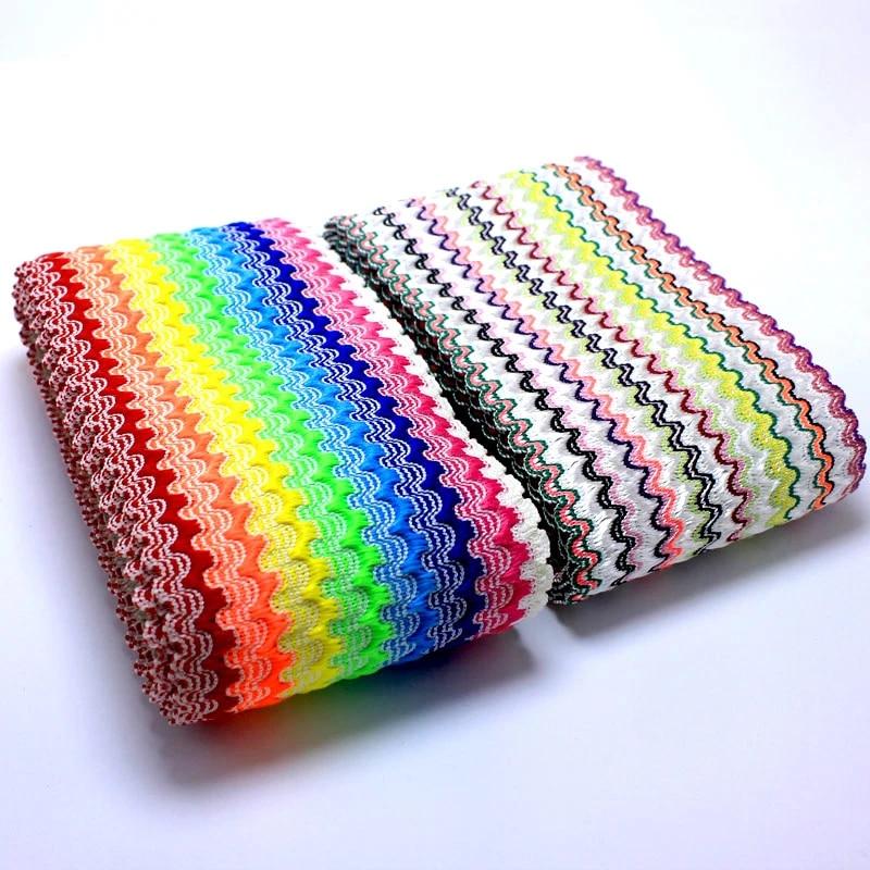 2m 5-6cm color flower elastic band suitable trousers waistbands decoration