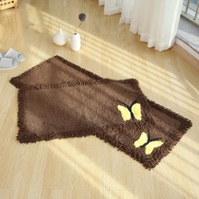 New Thicken Cotton Chenille Bath Mat toilet door mats for bathroom rugs kitchen carpets bedroom floor absorbent doormat outdoor