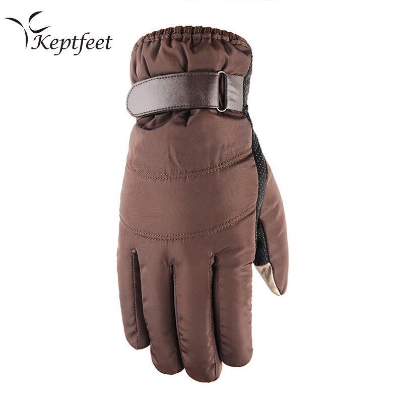 Snow Ski Gloves Touch Screen Winter Men Women Warm Snowboard Waterproof Gloves Motocross Windproof Cycling Motorcycle Glove цена 2017