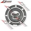 Moto de Carreras de Fibra de Combustible tapa Del Tanque De Gas Protector Pad Sticker Decal para honda cbr 600 f2/f3/f4/f4i/F5