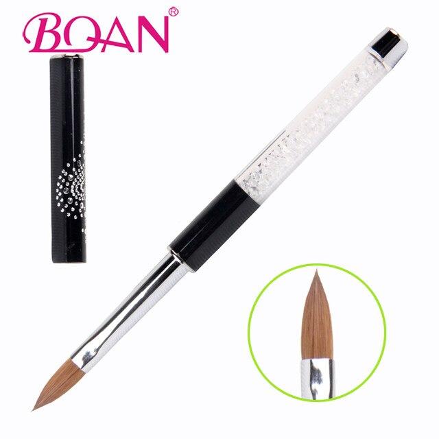 Online Shop BQAN Nail Brush #2#4#6#8#10#12 Rhinestone Acrylic Brush ...
