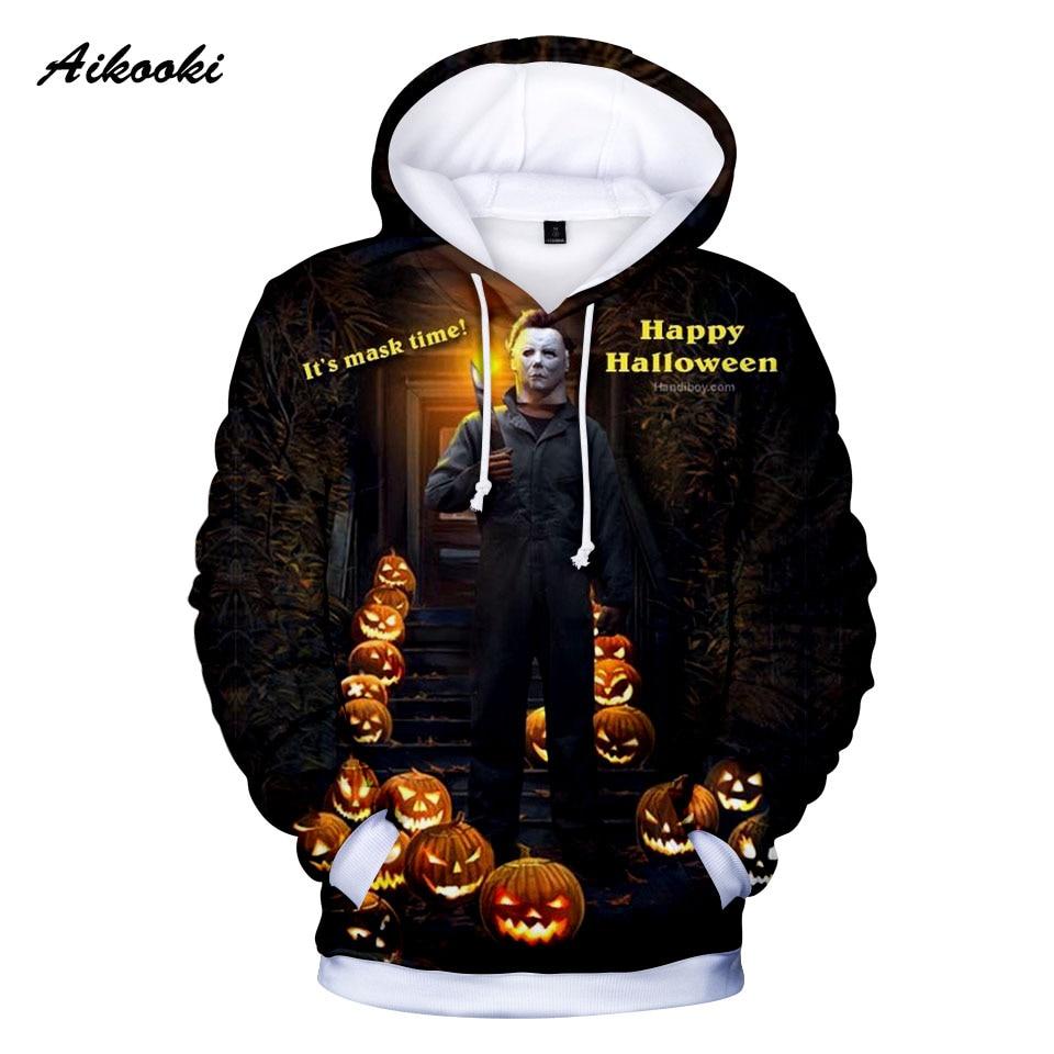 Happy halloween Time to party Hooded Sweatshirt