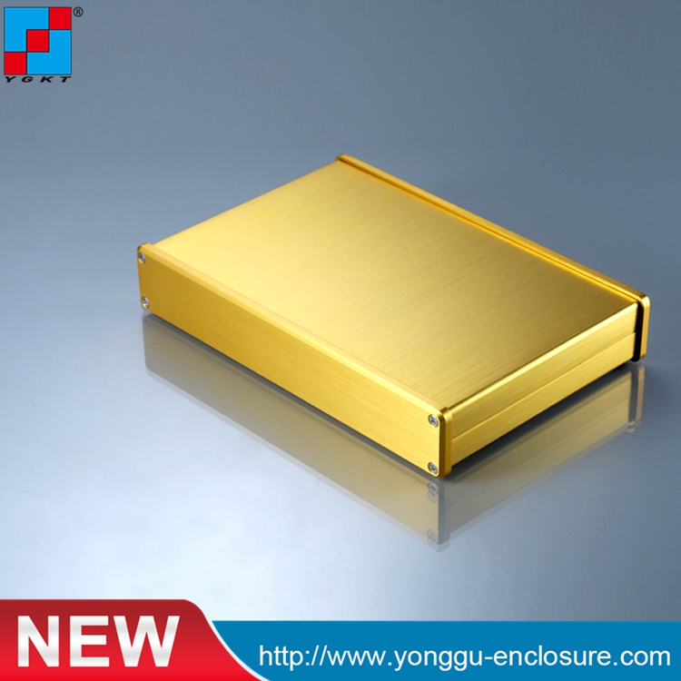 YGS-038 202*32-130mm (WxH-L) metal project box enclosures electrical panel enclosures/aluminum extrusion caseYGS-038 202*32-130mm (WxH-L) metal project box enclosures electrical panel enclosures/aluminum extrusion case