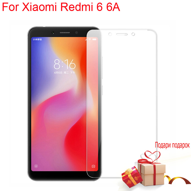 For <font><b>Xiaomi</b></font> <font><b>Redmi</b></font> <font><b>6</b></font> 6A Global Version 9H 2.5D HD Tempered Glass JGKK Screen Protector For <font><b>Xiaomi</b></font> <font><b>Redmi</b></font> <font><b>6</b></font>/6A safety Glass image