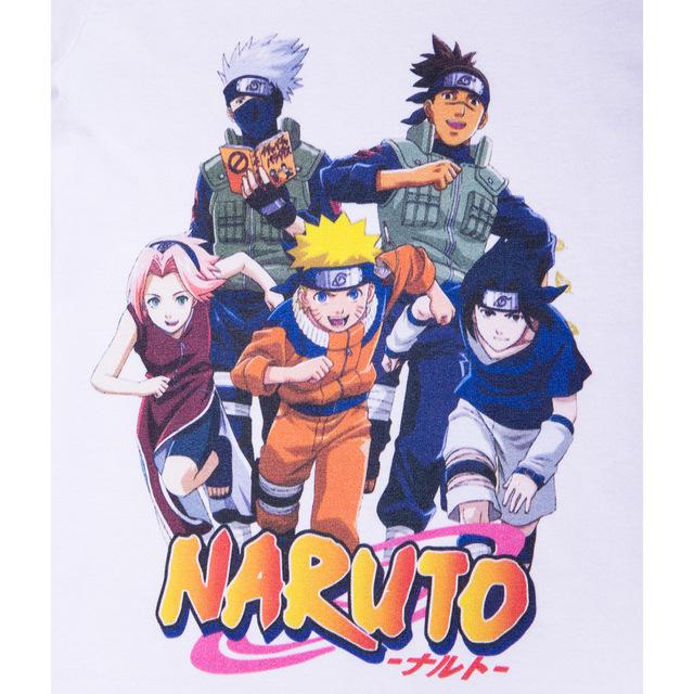 Naruto White T shirts for kids boys