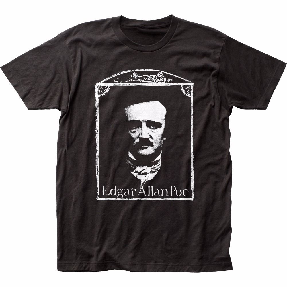 Edgar Allen Poe Originals Licensed Adult T Shirt