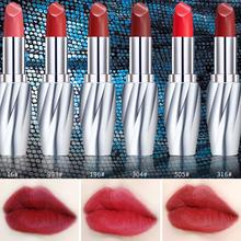 ZHENDUO 6 colors Fashion Women Makeup Velvet Noble Silk Matte lipstick Bean Paste Long Lasting red lip stick makeup