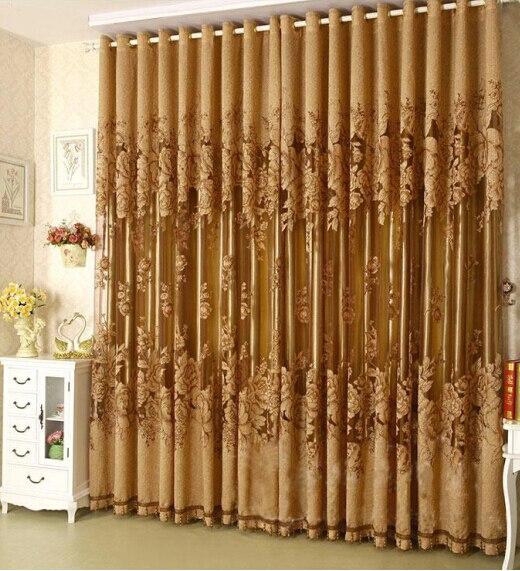 High Window Curtains: Fashion 100*270cm Modern Fashion High Quality Window