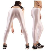 (LG001) Unisex Lycra Spandex Tights Solid Color Opaque Zentai Legging Fetish Wear Customize Size