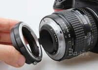 Objectif Macro adaptateur inverse bague de protection AI à 52mm filtre UV pour Nikon d3100 d3200 d3300 d5100 d5300 d7000 d7100 appareil photo reflex numérique