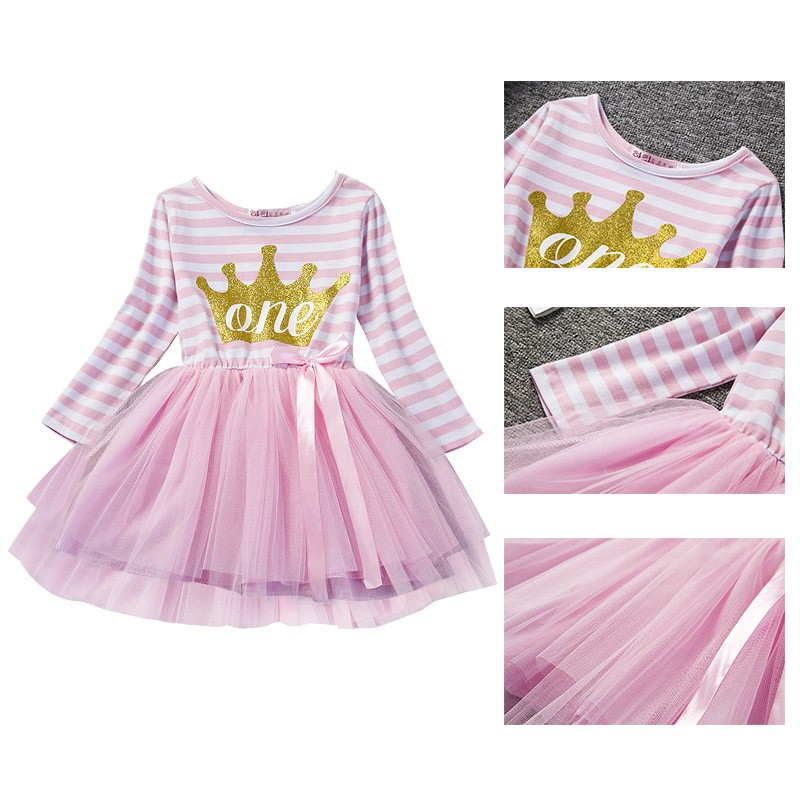 Vestido del tutú del bebé bebe Pinks Kid Niñas partido Vestidos ...