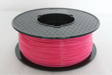 Pink color 3d printer filament 1 75mm 1KG pla 3d printing plastic Rubber Consumables Material for